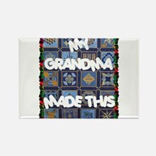 My Grandma Rectangle Magnet