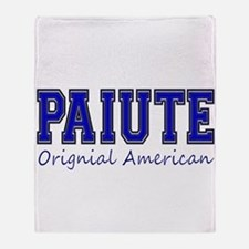 Paiute Original American Throw Blanket
