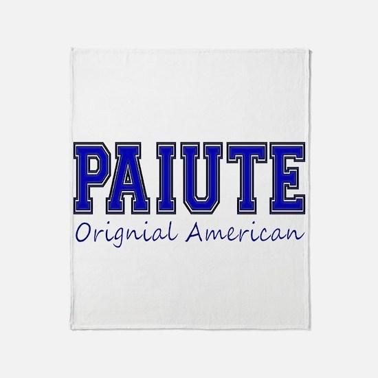 Paiute Original American Throw Blanket