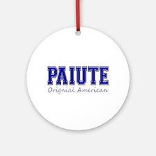 Paiute Original American Ornament (Round)