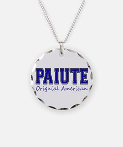 Paiute Original American Necklace Circle Charm