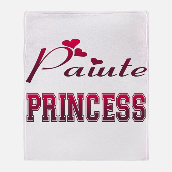 Paiute Princess Throw Blanket
