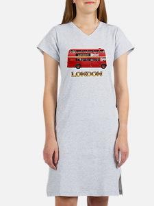Red Bus Women's Nightshirt