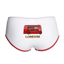Big Red Bus Women's Boy Brief