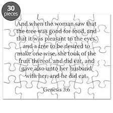 Genesis 3:6 Puzzle