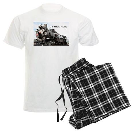 I'm hot and steamy Men's Light Pajamas