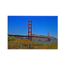 San Francisco Rectangle Magnet