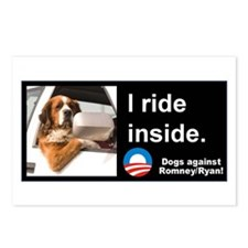 I Ride Inside! Postcards (Package of 8)