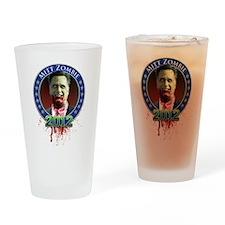 Mitt Zombie Drinking Glass