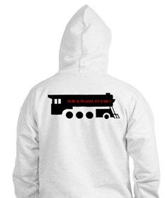 See The USA By Train ! Jumper Hoody