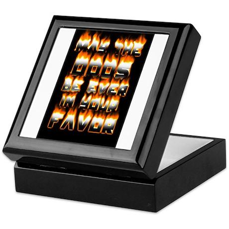Odds on fire Keepsake Box