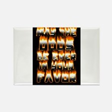 Odds on fire Rectangle Magnet