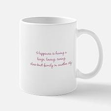 Family Happiness Mug