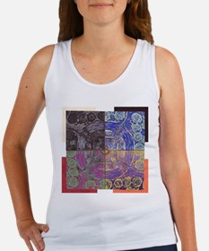 """""""Divided Structure"""" Women's Tank Top"""
