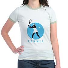 female tennis player T