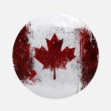 Canada Graffiti Ornament (Round)