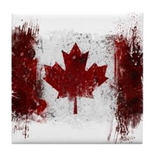 Canada Graffiti Tile Coaster