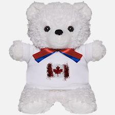 Canada Graffiti Teddy Bear
