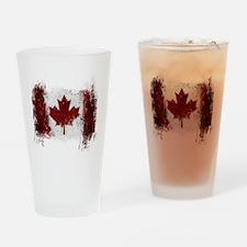 Canada Graffiti Drinking Glass