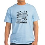 Light Color T-Shirt Protesting Outsourcing JOBS