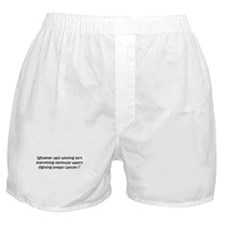 breast cancer awareness.png Boxer Shorts
