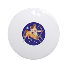 Zodiac Ornament (Round)