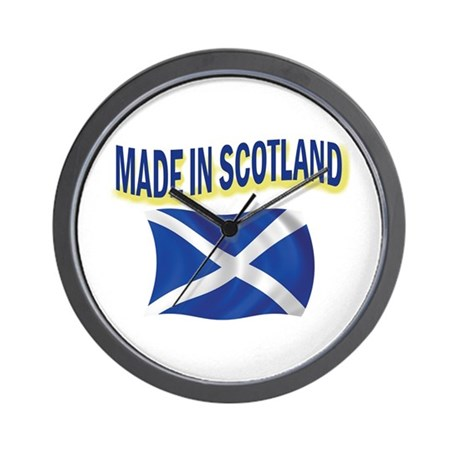 MADE IN SCOTLAND Wall Clock