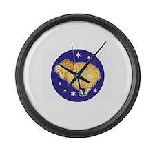 Zodiac Large Wall Clock