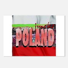 poland art illustration Postcards (Package of 8)