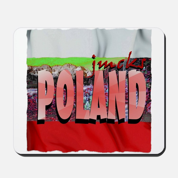 poland art illustration Mousepad