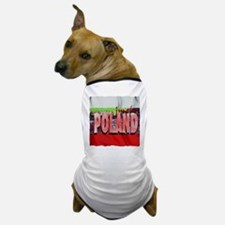 poland art illustration Dog T-Shirt