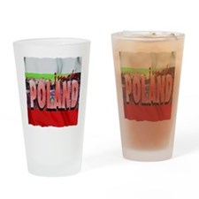 poland art illustration Drinking Glass