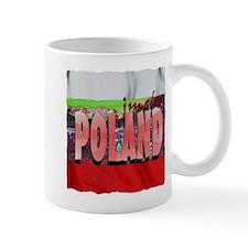 poland art illustration Mug