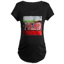 poland art illustration T-Shirt