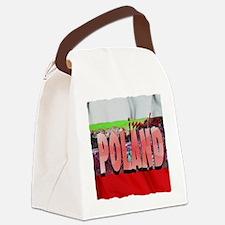poland art illustration Canvas Lunch Bag