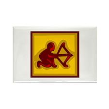 Zodiac Rectangle Magnet