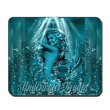 Underwater Beauty Mousepad