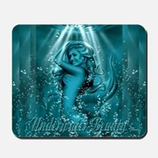 Underwater Beauty Mousepad
