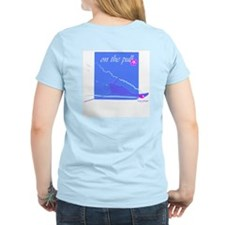On the pull - Women's Pink T-Shirt