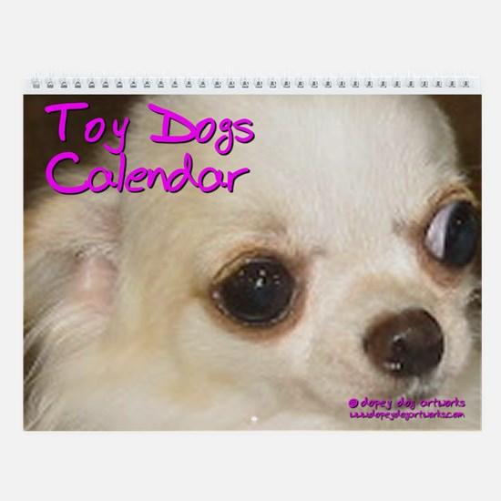 TOY DOGS Wall Calendar