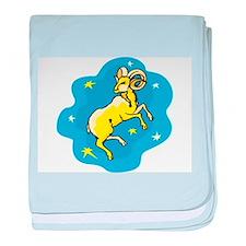 Zodiac baby blanket