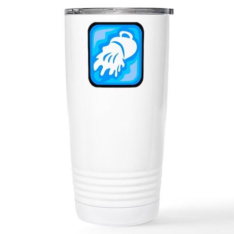 Zodiac Stainless Steel Travel Mug