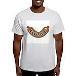 Oktoberfest Brat Ash Grey T-Shirt