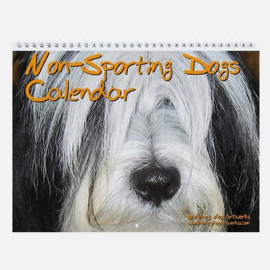 NON-SPORTING DOGS Wall Calendar