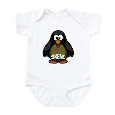 Skene Tartan Penguin Infant Bodysuit