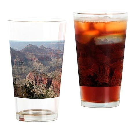 Grand Canyon North Rim, Arizona Drinking Glass