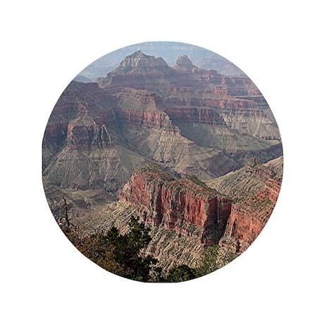 "Grand Canyon North Rim, Arizona 3.5"" Button"