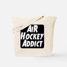 Air Hockey Addict Tote Bag