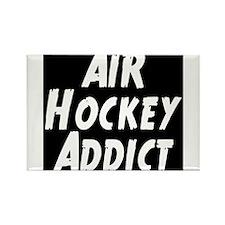 Air Hockey Addict Rectangle Magnet