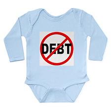 Anti / No Debt Long Sleeve Infant Bodysuit